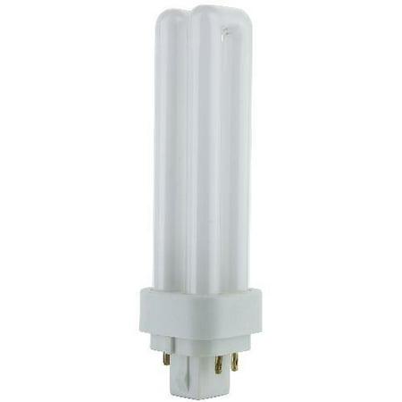 SUNLITE Compact Fluorescent G24Q-1, 4 Pin, 13W 4100k Bulb