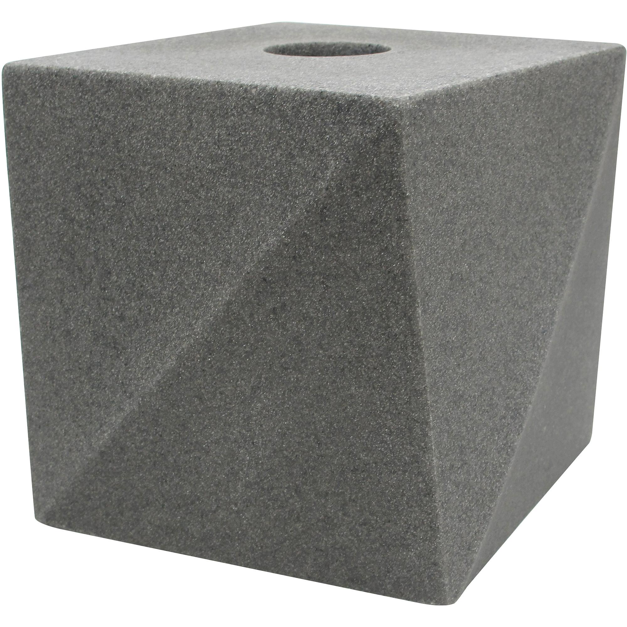 Allure Geo Stone Tissue Box