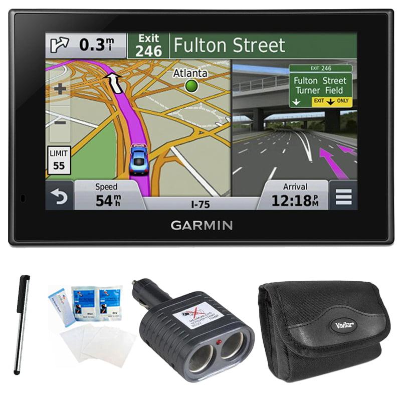 "Garmin nuvi 2589LMT Advanced Series 5"" GPS Navigation System Case and More Kit"