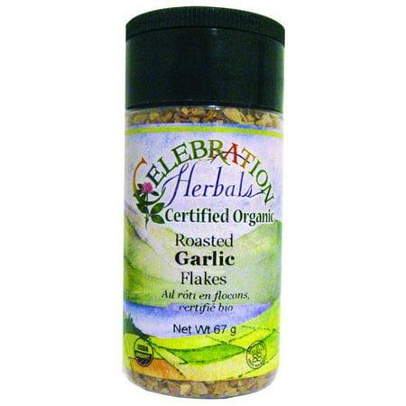 Celebration Herbals Garlic Flakes Roasted Organic, 67 gm