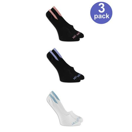 Ladies Breathable Flat Knit Liner Socks
