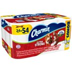 Charmin Ultra Strong 2-Ply Toilet Paper Rolls 24 ct Pack