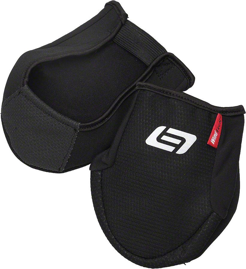 Bellwether Coldfront Toe Warmer Shoe Cover: Black One Size