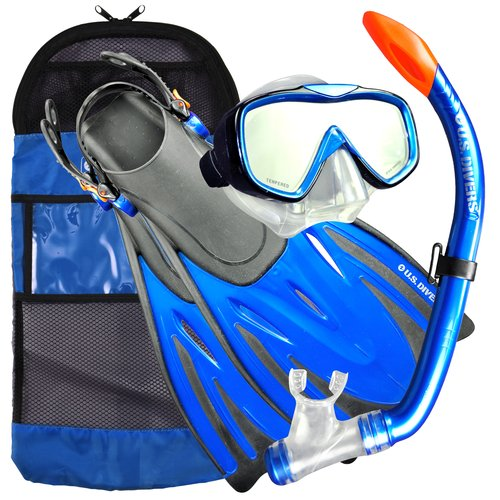 US Divers Pakala Adult Snorkel Set