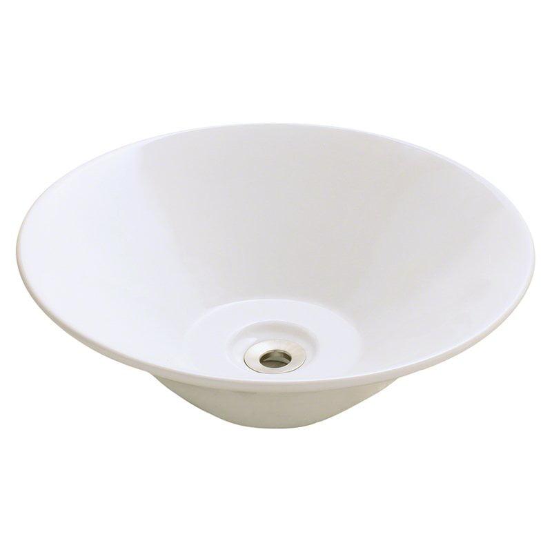 Polaris Sinks p022 Porcelain Vessel Sink