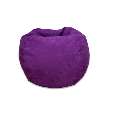 Large Microsuede Bean Bag Available In Multiple Colors Walmart Com