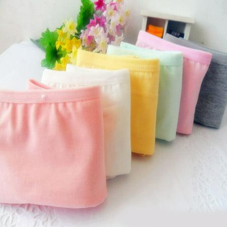 Womens Underwear Briefs Knickers - Women Lady Soft Cotton Low Waist Underwear Sexy Panties Solid Color Knicker Briefs