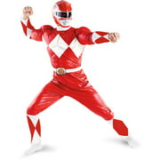 Red Ranger Adult Halloween Costume - One Size