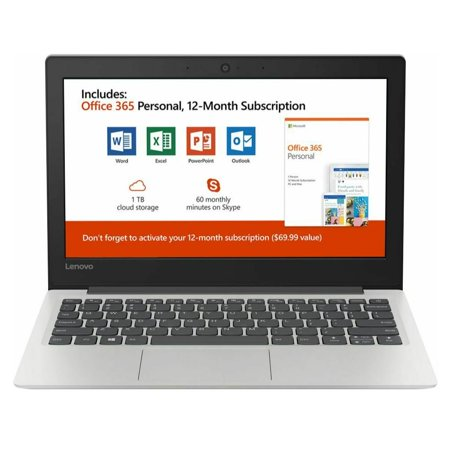 Lenovo 130S 11IGM 11.6 Laptop (Celeron N4000, 4GB, 64GB eMMC Flash Memory)