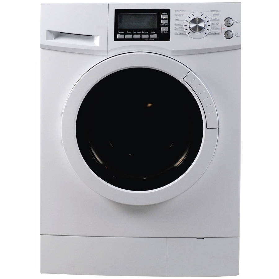 compact washer dryer combo midea 2 cuft portable washing machine with dryer combo 12151