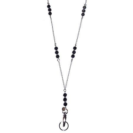 Hidden Hollow Beads Necklace, 34