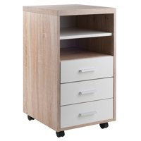 Winsome Wood Kenner 3-Drawer Storage Cabinet, Two-Tone Finish