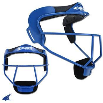 The Grill, Softball Fielder's Facemask- Youth 6 1/4-6 3/4, Royal Blue
