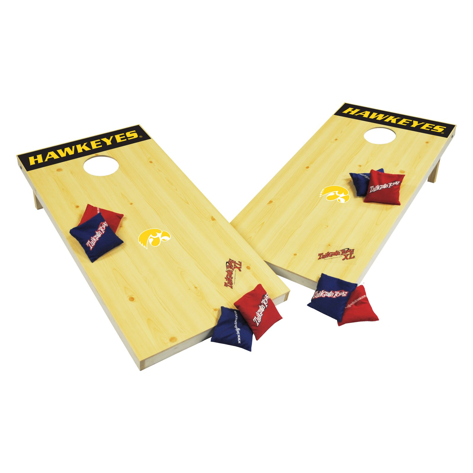 Wild Sales Wild Sports NCAA Tailgate Toss XL Cornhole Set