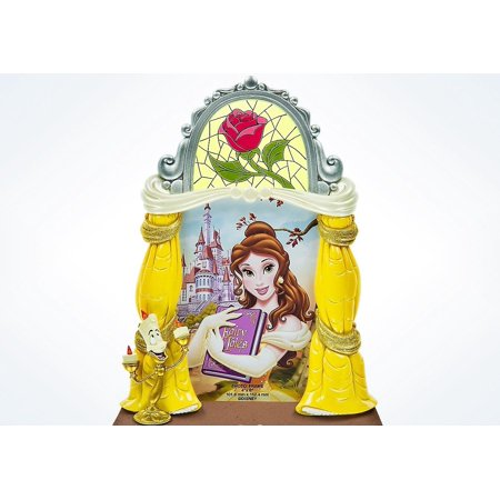 Disney Parks Belle and Lumiere Theme Resin Picture Photo Frame 4x6 New](Disney Film Halloween Theme)