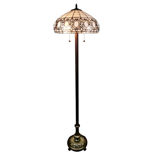 Amora Lighting Tiffany 62'' Floor Lamp by Supplier Generic