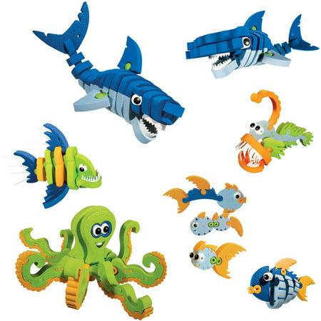 Bloco Marine Creatures Scholastic Set