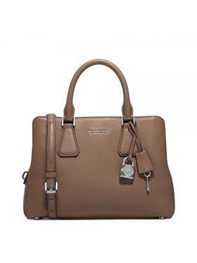 872cc1dfc214 Product Image MICHAEL Michael Kors Camille Medium Leather Pebbled Leather  Satchel Dark Dune