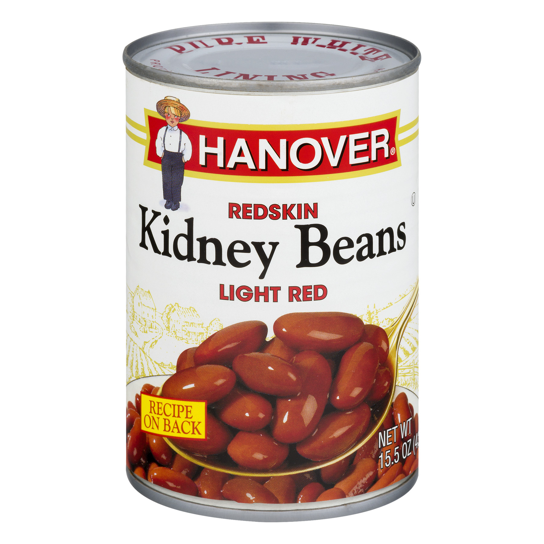Hanover Redskin Kidney Beans Light Red, 15.5 OZ