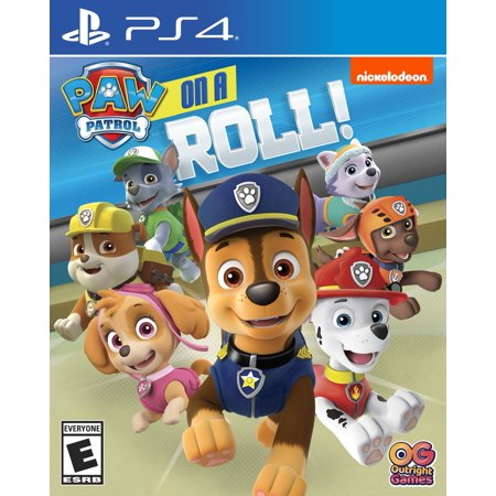 Paw Patrol On a Roll, PlayStation 4, Outright Games, - Play Halloween Games Online
