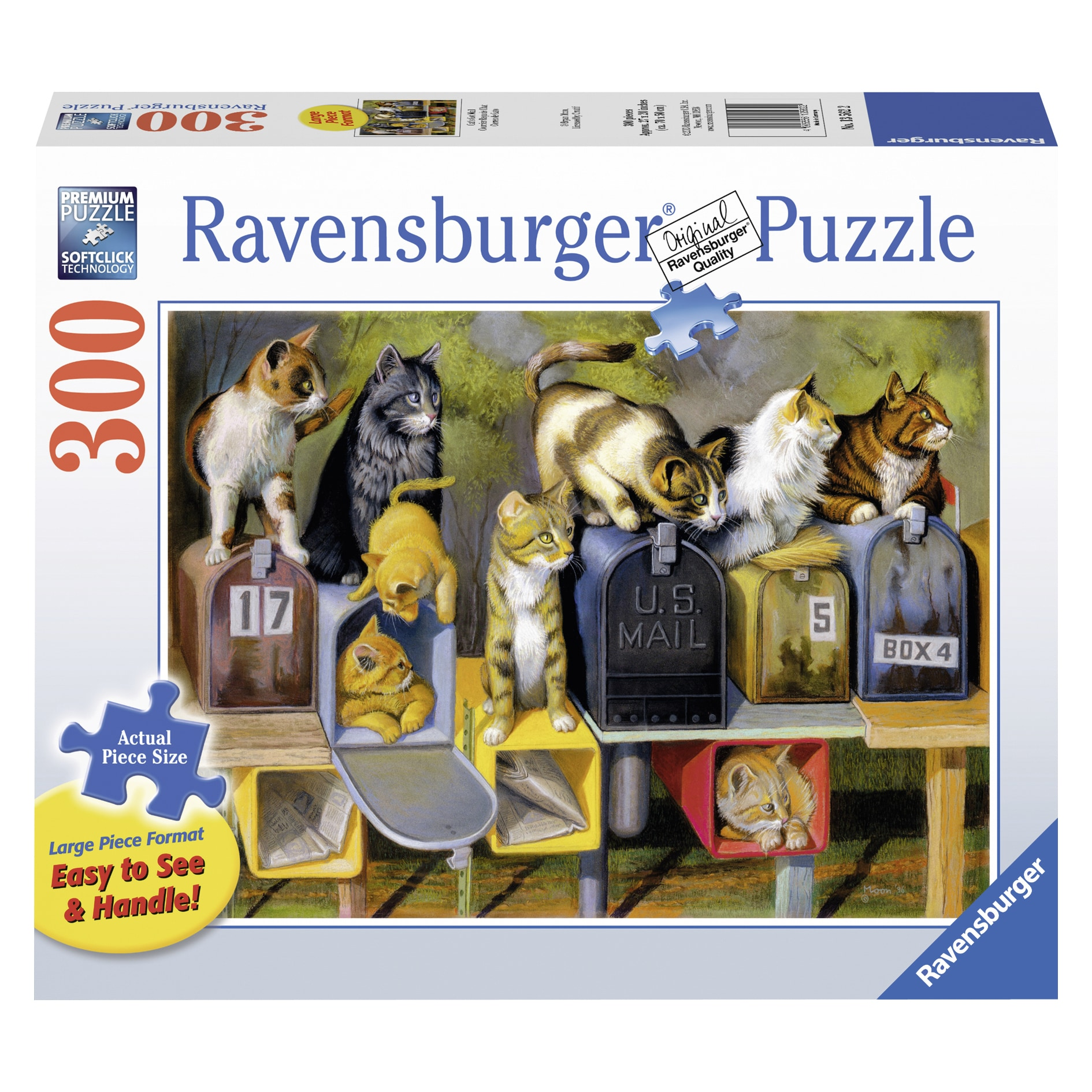 Ravensburger Cat's Got Mail Large Format Puzzle, 300 Pieces by Overstock