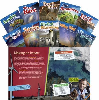 Let's Explore Earth & Space Science Grades 4-5, 10-Book Set (Informational Text: Exploring Science) by