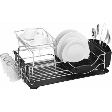 Deluxe Dish (Home Basics Dish Drainer Deluxe,)