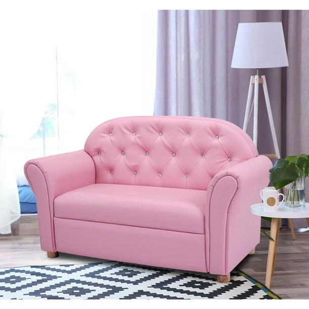 Costway Kids Sofa Princess Armrest Chair Lounge Couch Children Toddler Gift Walmart Com Walmart Com