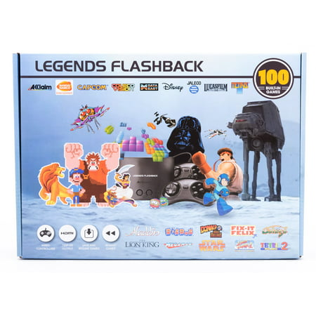 Legends Flashback. HDMI Game Console with 100 Games Built-In