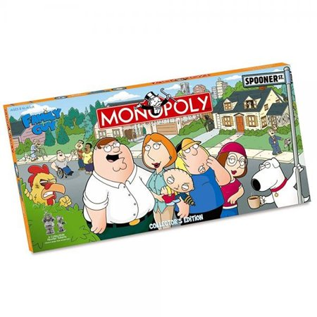 Usaopoly Family Guy Collector's Edition Monopoly - Monopoly Guy Halloween