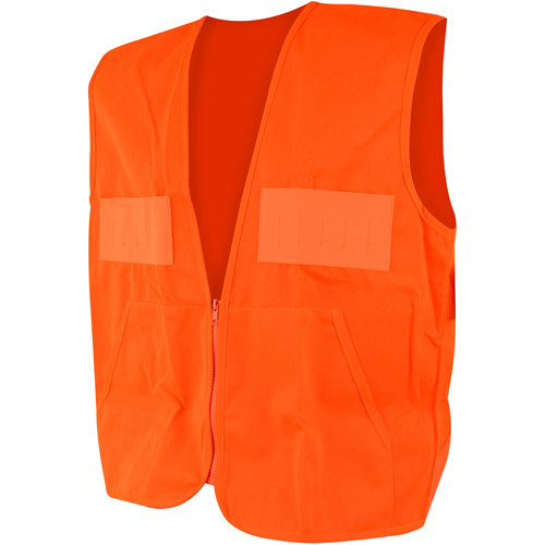 QuietWear Hunting Vest with Game Bag, Blaze