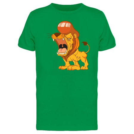 Lion Fashion Hipste Hairstyle Tee Men's -Image by Shutterstock - Mens Hairstyles Of The 1920s