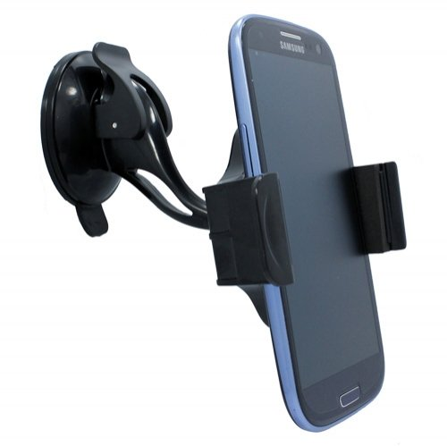 Premium Universal Compact Car Mount Kit Rotating Windshie...