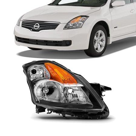 2009 Bmw Sedan (Fit 2007 2008 2009 Altima 4Dr Sedan Clear Headlight Passenger Side Replacement)