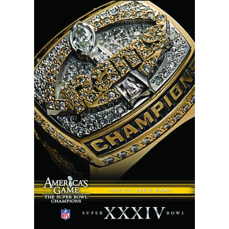 NFL America's Game: St. Louis Rams Super Bowl XXXIV (DVD) (Super Bowl Crafts)