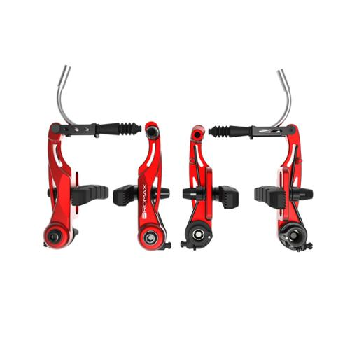 Promax P-1 Linear Pull Brakes 85mm Reach Red