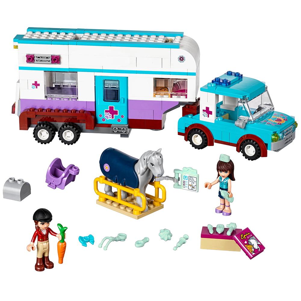 Lego Friends Horse Vet Trailer 41125 Walmart