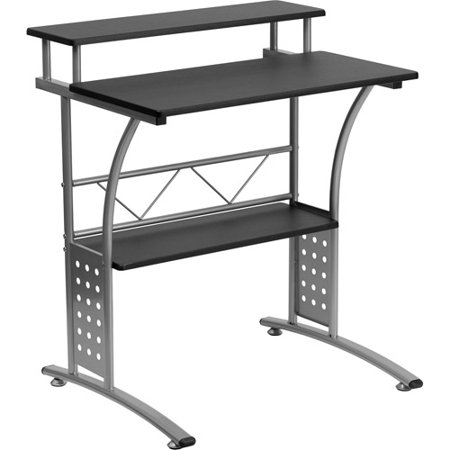 Flash Furniture Clifton Computer Desk With Shelf Multiple Colors