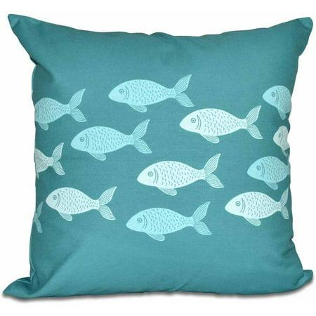Fish Needlepoint Pillow (Simply Daisy 16