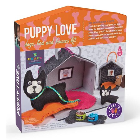 Puppy Love Make 'n Play Kit (Craft-Tastic) - Craft Kit by Ann Williams