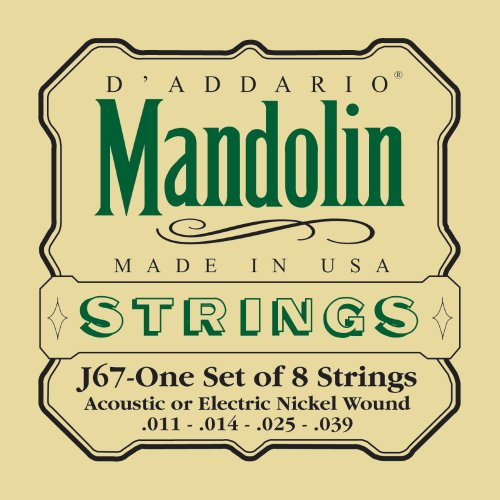 Mandolin Nickel Strings