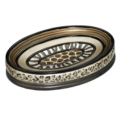 Popular Bath Safari Stripe Soap Dish