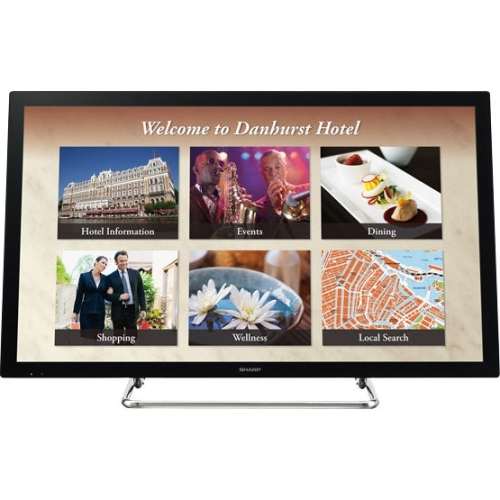 "Sharp Aquos Board PN-L401C 40"" Edge-Lit LED Interactive Display System"