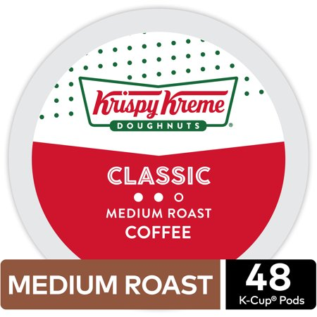 Krispy Kreme Classic Coffee, Keurig K-Cup Pod, Medium Roast, 48ct - Krispy Kreme Halloween Rap