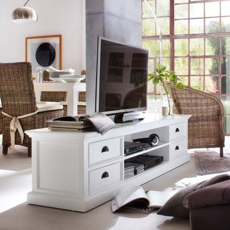 Nova Solo Halifax Large TV Stand with 4 Drawers