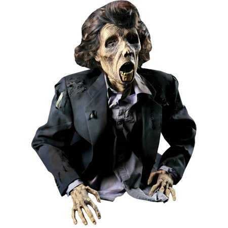 Grave Buster Bob Frightronic Halloween Decoration - Grave Digger Halloween