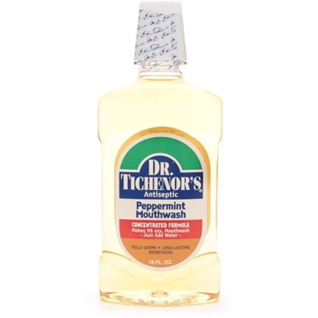 Dr. Tichenor's Antiseptic Mouthwash, Peppermint 16 oz (Pack of