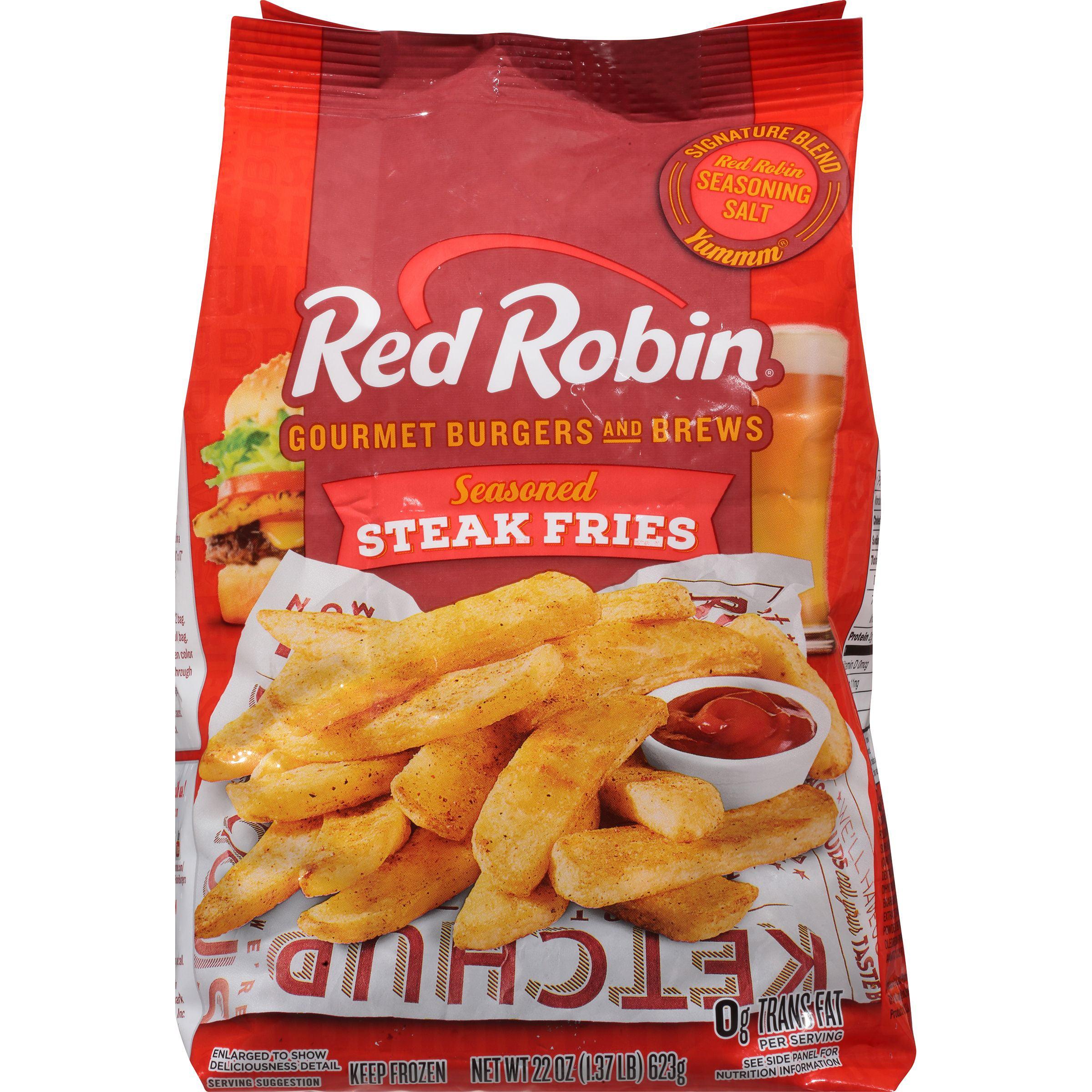 Red Robin Seasoned Steak Fries, 22 oz