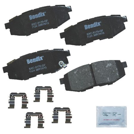 Go-Parts » 2010-2014 Subaru Outback Rear Disc Brake Pad Set for Subaru Outback (2.0XT Touring / 3.6R / 3.6R Limited / 3.6R Premium)
