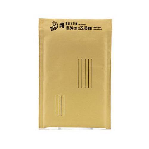 Shurtech Brands BKE-0 Bubble Padded Envelope, Dispenser Box, 6 x 9-In.